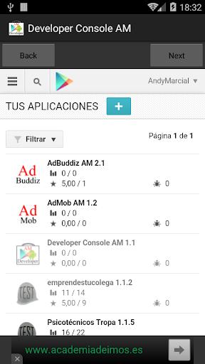 Developer Console AM