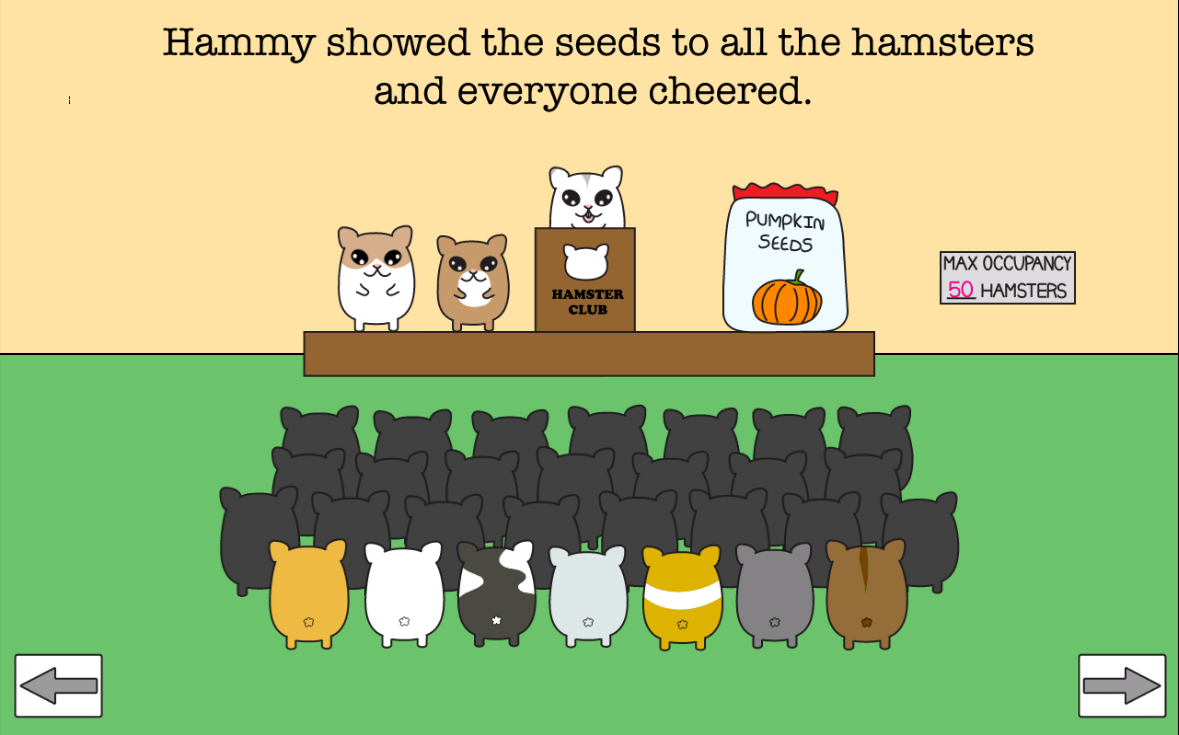 Hamsters and the Pumpkin Seeds - screenshot