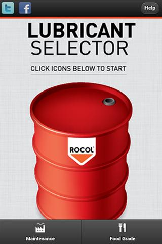 Lubricant Selector