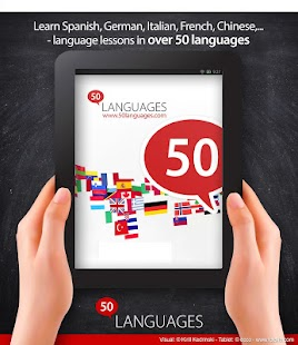 Learn 50 languages - screenshot thumbnail