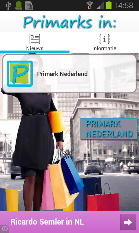 Primark Shops- screenshot