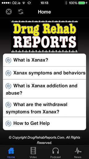 Xanax Addiction and Abuse