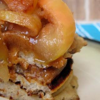 Caramel Apple Pancakes (nut free)