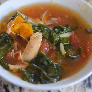 Italian Spinach Orzo Soup