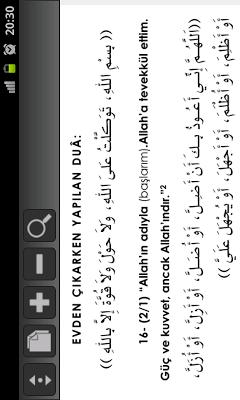 Dua Ve Zikirler -Hısnul Muslim - screenshot