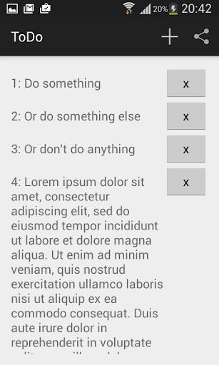 World's Simplest ToDo List