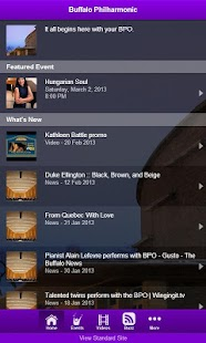 Buffalo Philharmonic Orchestra - screenshot thumbnail