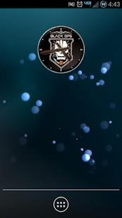 Black Ops II Analog Clock