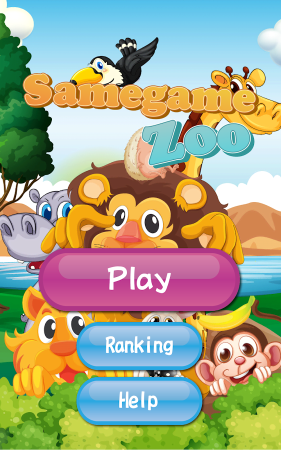 Samegame Zoo- screenshot