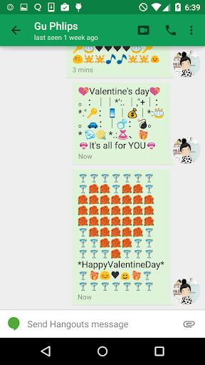 Valentines Art -Emoji Keyboard