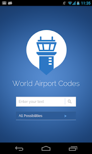 World Airport Codes - screenshot thumbnail