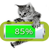 Kitten Battery Widget Premium