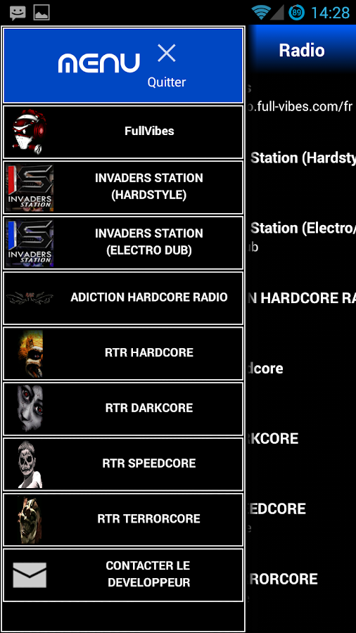 WebRadio Teuf (WRT) - screenshot