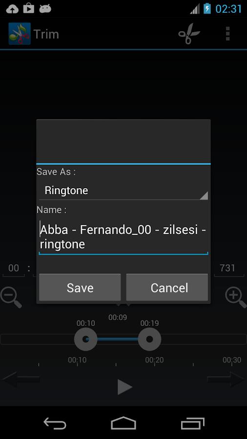 ZeoRing  - Ringtone Editor- screenshot