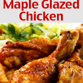 Maple Glazed Chicken.