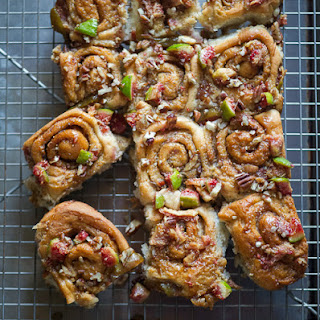 Fig Pecan Sticky Buns
