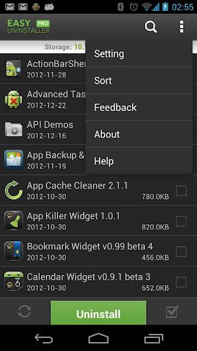 برنامج لازالة التطبيقات من جذورها Easy Uninstaller Pro v2.1.1