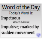 Word of the Day SE icon