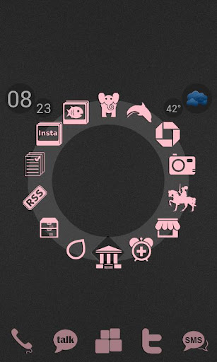ADW Ex Light Pink Icons