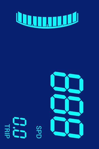 Digital speedometer: Digivel - screenshot