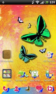 Butterfly GO Launcher Theme- screenshot thumbnail
