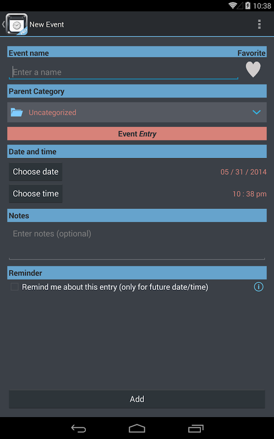 TimeJot- screenshot