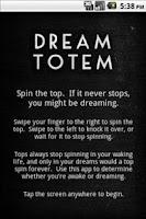Screenshot of Dream Totem