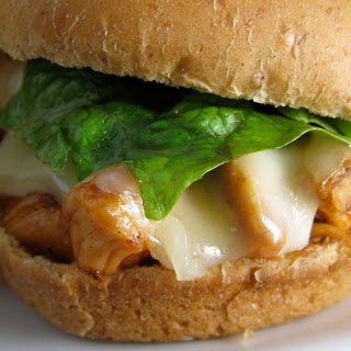 BBQ Ranch Chicken Sliders.
