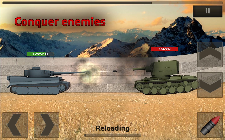 Tanks:Hard Armor Free - screenshot