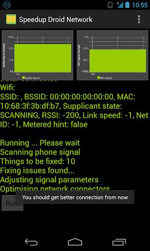 Speedup Droid Network