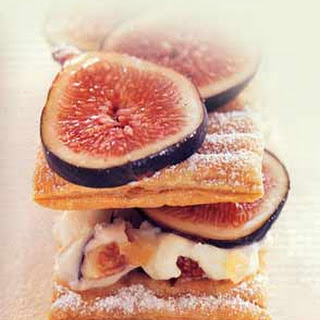 Fig and Gingered Mascarpone Napoleons