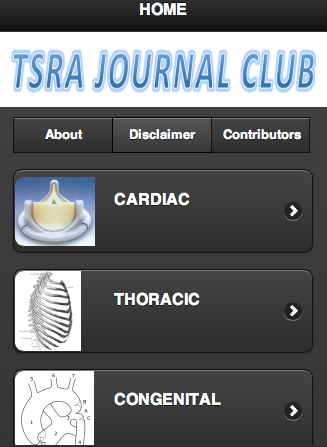 TSRA Journal Club