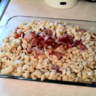 Bacon and Tomato Pasta Salad.