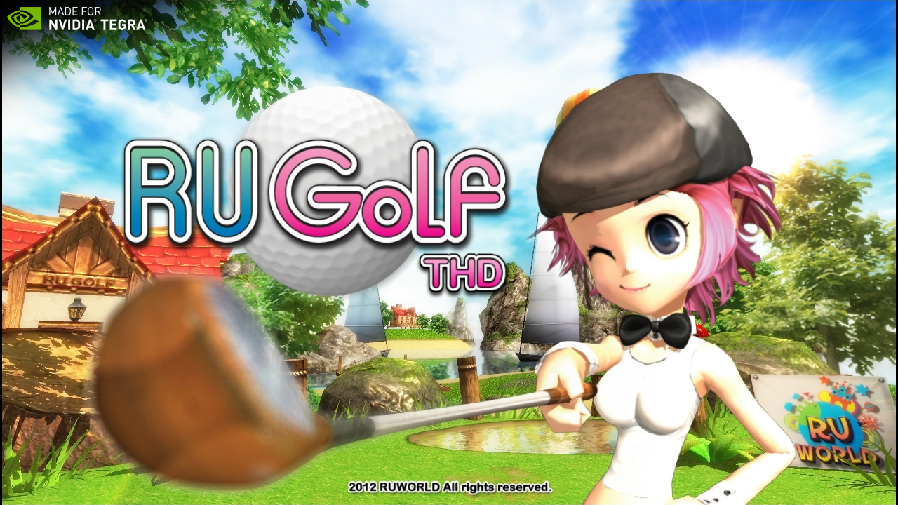 RU golf THD Tegra 4 version- screenshot