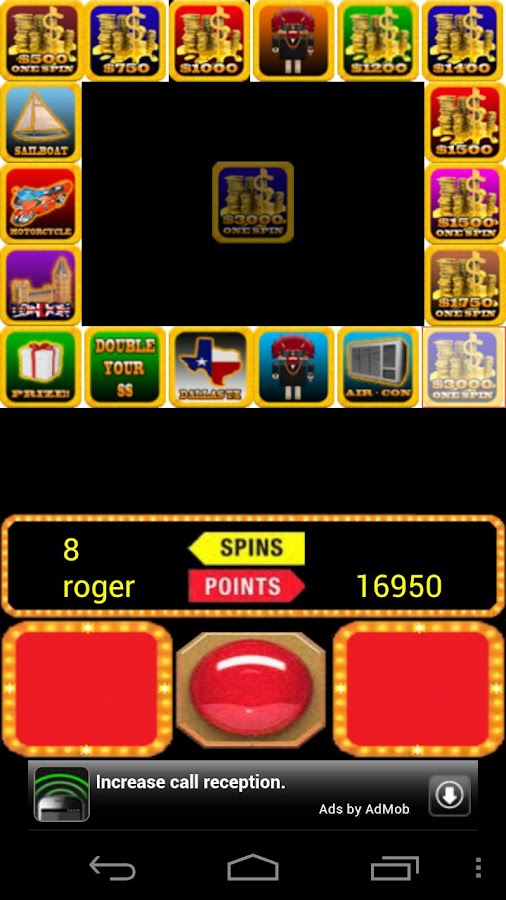 PRESS YOUR LUCK Spin - screenshot