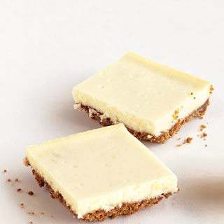 Ginger Cheesecake Bars