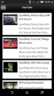 Gymfinity- screenshot thumbnail