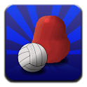 Blobby Volleyball logo