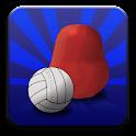 Blobby Volleyball logo