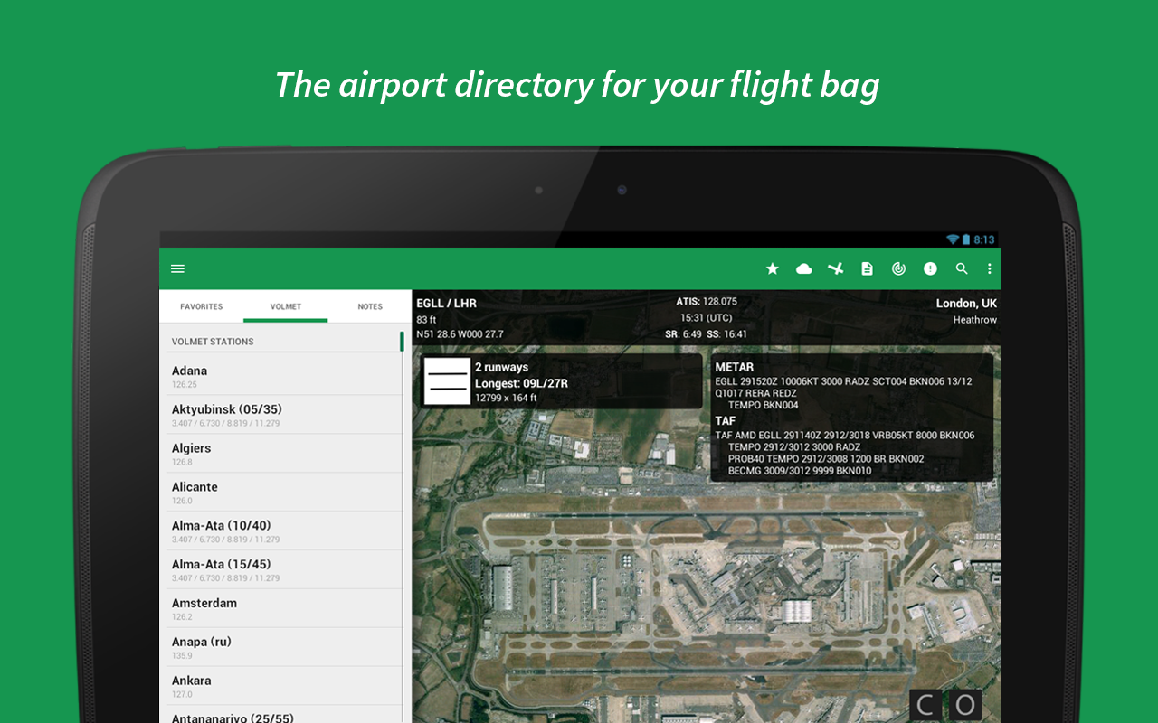 Airports- screenshot