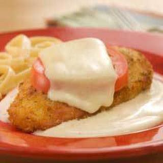 Skillet Chicken Alfredo.