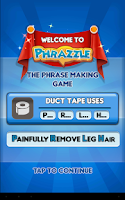 Screenshot of Phrazzle