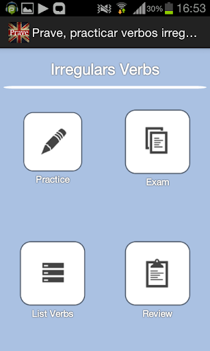Prave verbos irregulares