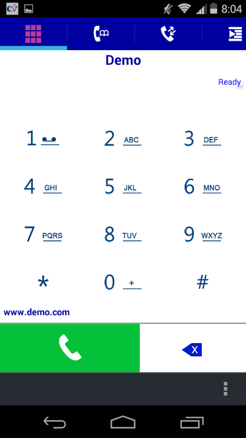 Crypto Dialer- screenshot
