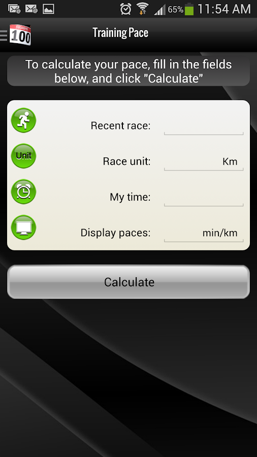 Running Room Mobile Runner PRO - screenshot