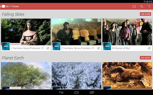 Google Play Movies & TV - screenshot thumbnail