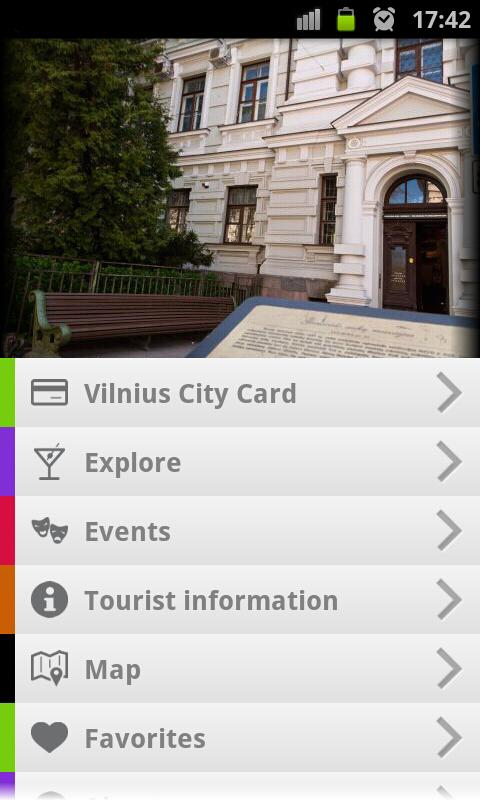 Vilnius Tourism- screenshot