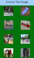 Screenshot of Skateboard game