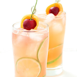 Apricot and Cherry Breezer.