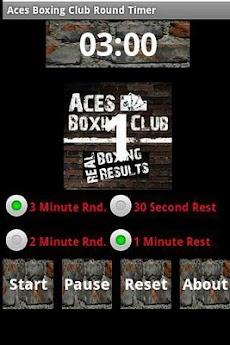 Aces Boxing Club Round Timerのおすすめ画像1